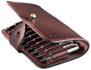 CARTRIDGE CASE, HERITAGE, BROWN