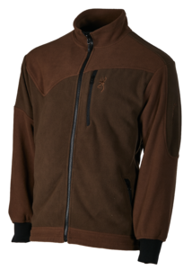 POLAR, POWERFLEECE ONE ZIPPIN, GREEN BROWN