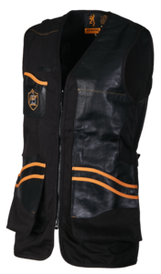 SHOOTING VEST, MASTER 2 BLACK LEFT HAND, BLACK